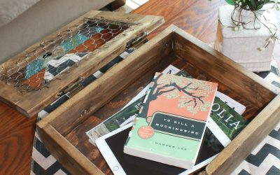 Rustic Coffee Table Storage Cabinet: Free Plans!