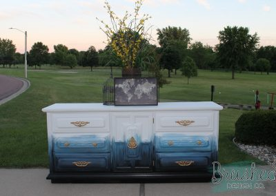 Painted Ombre Buffet