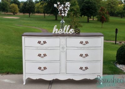 Dreamy French Provincial Dresser