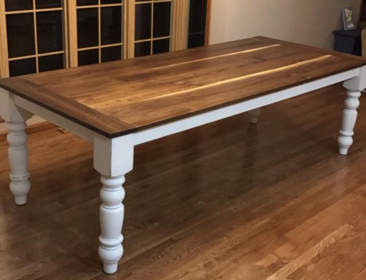 Build Your Own Farmouse Table