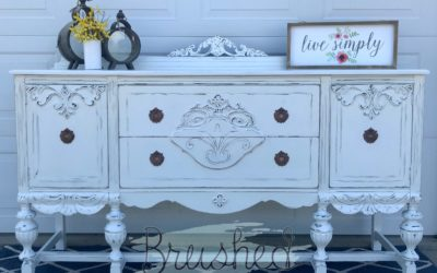 Bringing New Life to an Antique Buffet