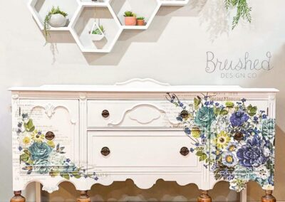 Farmhouse Floral Buffet